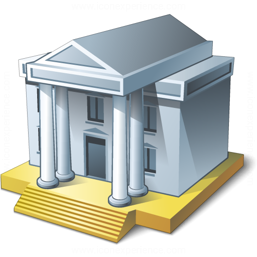 Iconexperience V Collection Courthouse Icon
