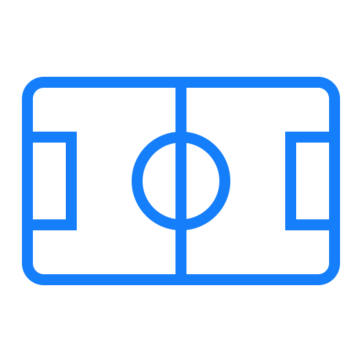 Soccer, Court Icon