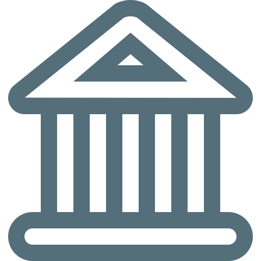 Bank, Building, Courthouse Icon Png And Vector For Free Download