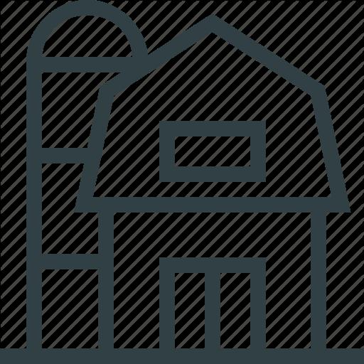 Door, Elevator, Farm, Hangar, House Icon