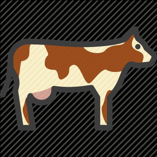 Bovine, Cattle, Cow Icon