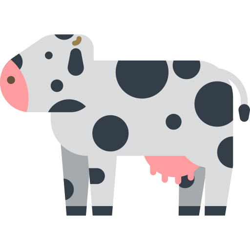 Cow Vector Icon Free Icons Uihere