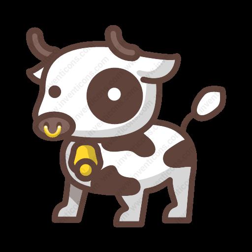 Download Cow Icon Inventicons