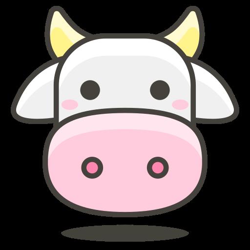 Cow, Animal Icon Free Of Another Emoji Icon Set
