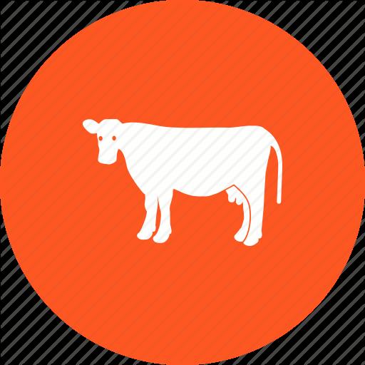 Animal, Cattle, Cow, Dairy, Farm, Milk, Milking Icon