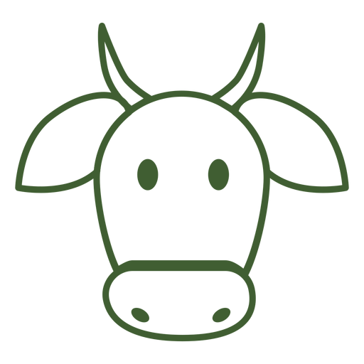 Simple Cow Icon