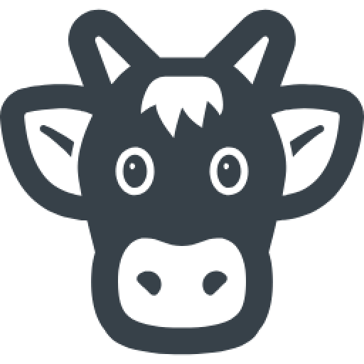 Cropped Cow Face Free Icon Connecticut Farm Bureau