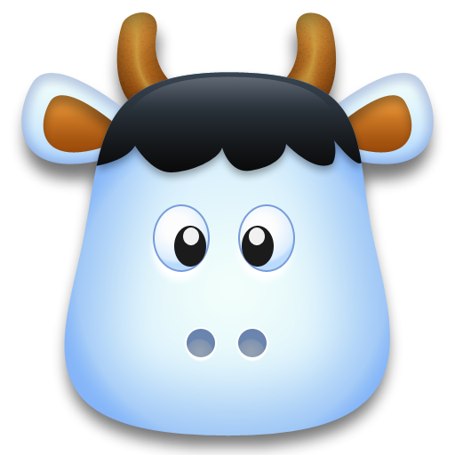 Milk, Cow, Animal, Remember, Cartoon Icon