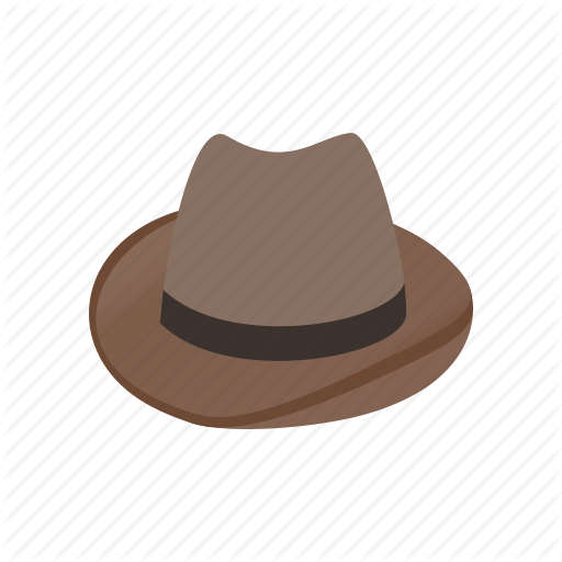 Brown, Clothing, Cowboy, Hat, Isometric, Leather, West Icon
