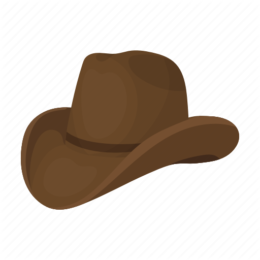 Cowboy, Hat, Headdress, Rodeo, Wide Brimmed Icon