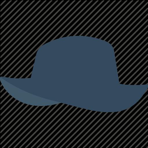 Cowboy Hat, Floppy Hat, Hat, Headgear, Summer Hat Icon