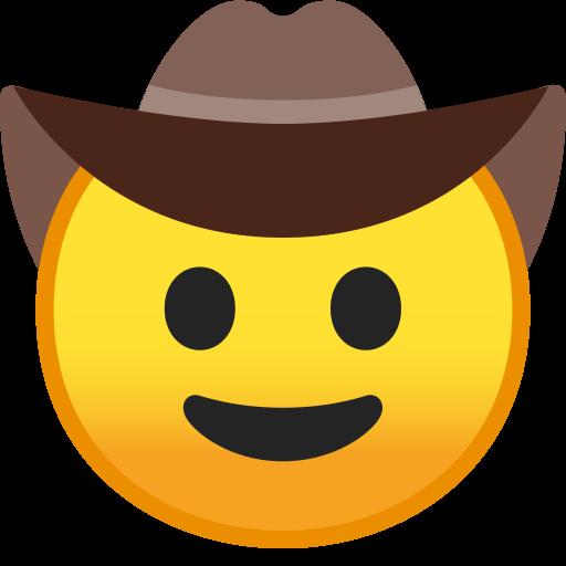 Cowboy Hat Face Icon Noto Emoji Smileys Iconset Google