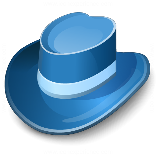 Iconexperience V Collection Hat Blue Icon
