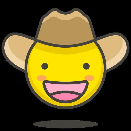 Cowboy, Hat, Face Icon Free Of Free Vector Emoji