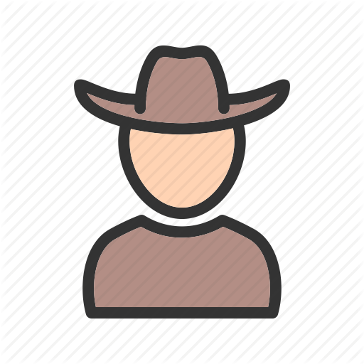 Avatars, Casual, Cowboy, Hat, Head, Leather, Style Icon