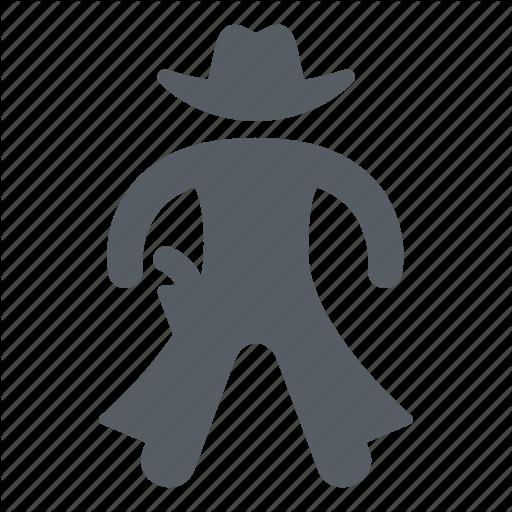 Cowboy, People, Usa, West, Western, Wild Icon