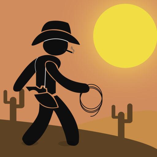 Cowboy Stickman Racing Showdown