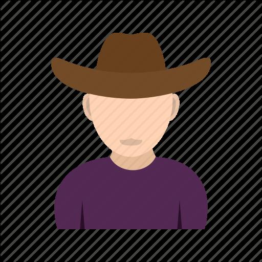 Vector Cowboy Flat Transparent Png Clipart Free Download