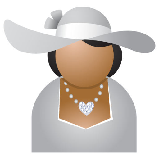 Miss Grey Hat Icon Free Download As Png And Icon Easy
