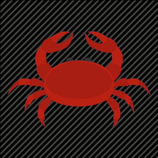 Animal, Claw, Crab, Crustacean, Ocean, Sea, Seafood Icon