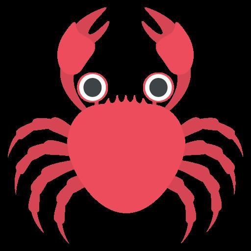 Crab Emoji Vector Icon Free Download Vector Logos Art Graphics