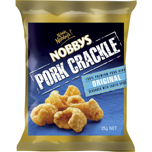 Nobby's Nobbys Pork Crackle Original