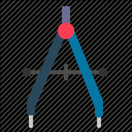 Compass, Craft, Geometric, Tools Icon