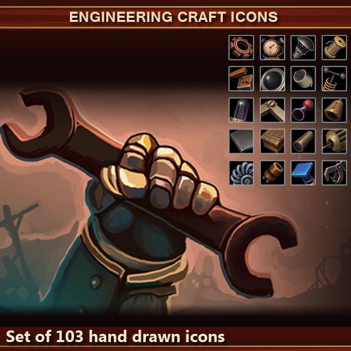 Engineering Craft Icons