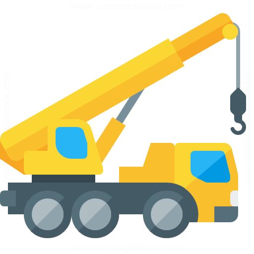 Iconexperience G Collection Mobile Crane Icon