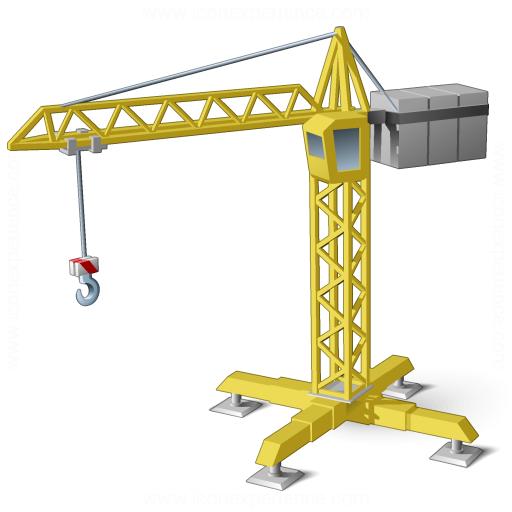 Iconexperience V Collection Tower Crane Icon