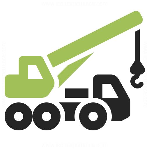 Mobile Crane Icon Iconexperience