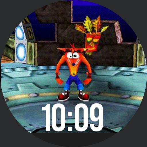 Crash Bandicoot For Moto