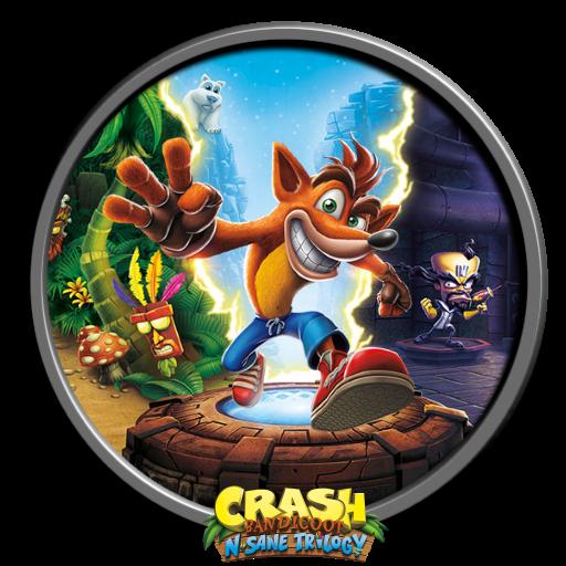 Crash Icon Bandicoot Lives