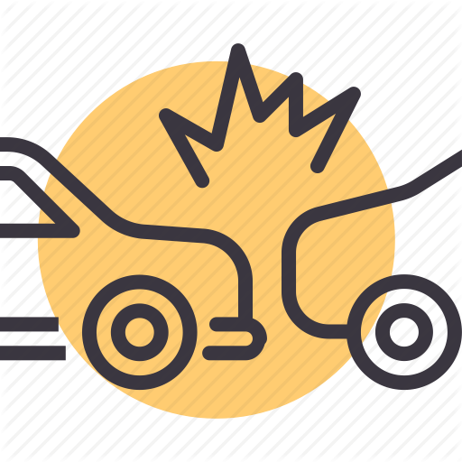 Accident, Car, Collision, Crash Icon