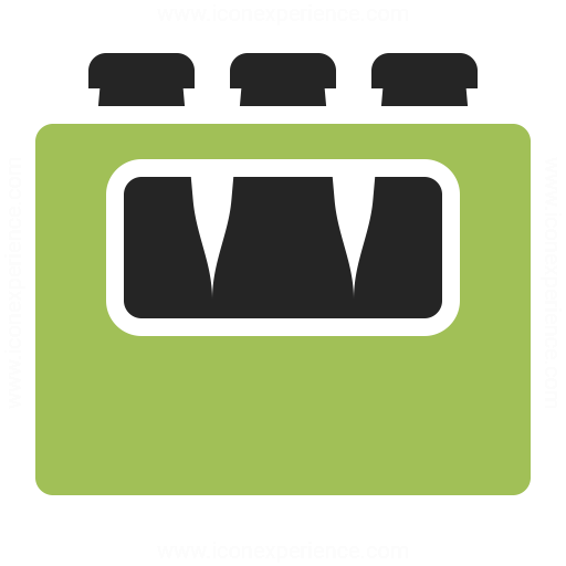 Bottle Crate Icon Iconexperience