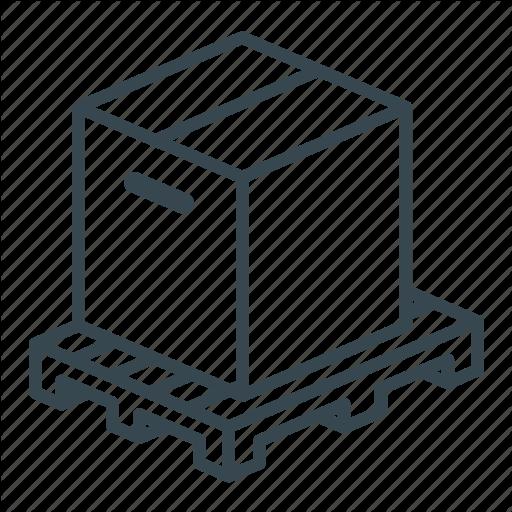Box, Business, Crate, Logistics, Pallet, Storage, Wooden Icon