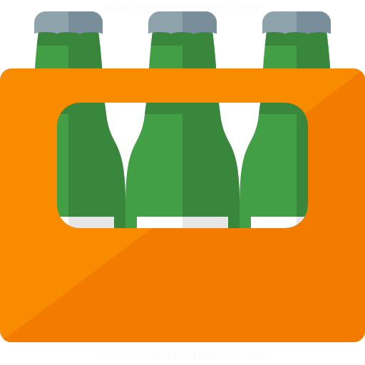 Iconexperience G Collection Bottle Crate Icon