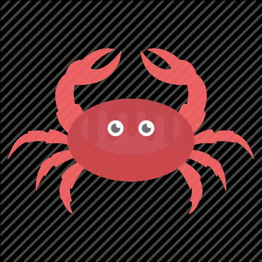 Cancer Zodiac, Crab, Crawfish, Crayfish, Lobster, Prawn, Seafood Icon