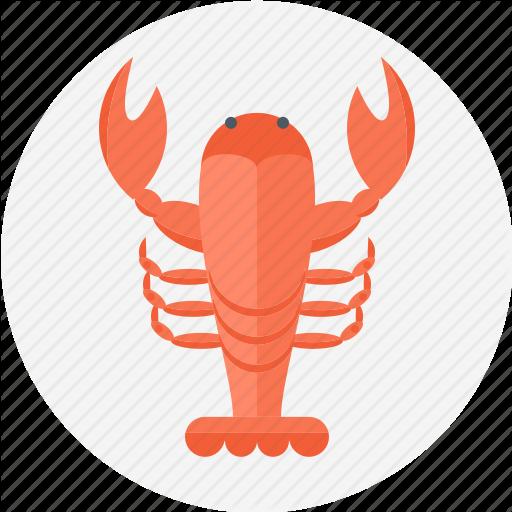 Crawfish, Food, Lobster, Lobster Claw, Sea Food Icon