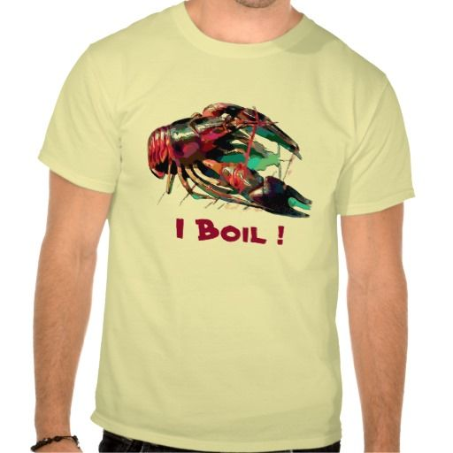 Crayfish, Crawfish Boil Add Text T Shirt Crayfish, Lobster, Crawfish