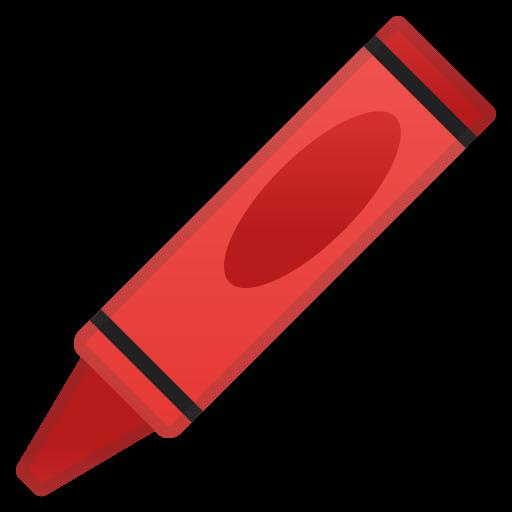 Crayon Icon Noto Emoji Objects Iconset Google