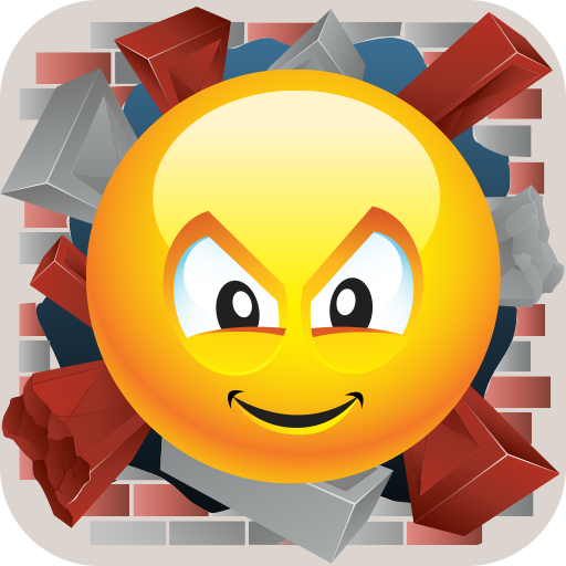 Super Crazy Ball! App Icon Crazy Ball Emoticon