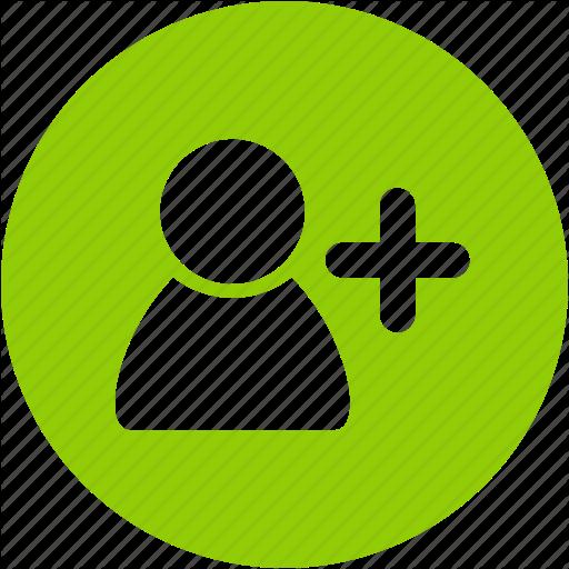 Account, Add, Avatar, Circle, Create, New, User Icon
