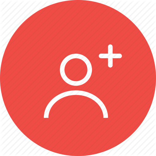 Account, Add, Contact, Create, New, Plus, User Icon