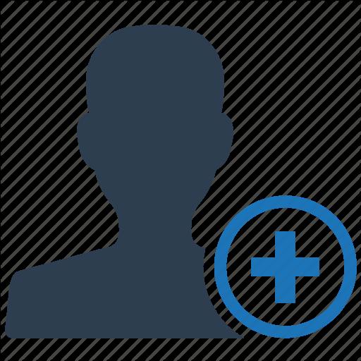 Account, Add, Create, New, User Icon