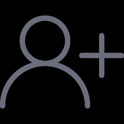 New, Account, Profile, Create, Add, User Icon