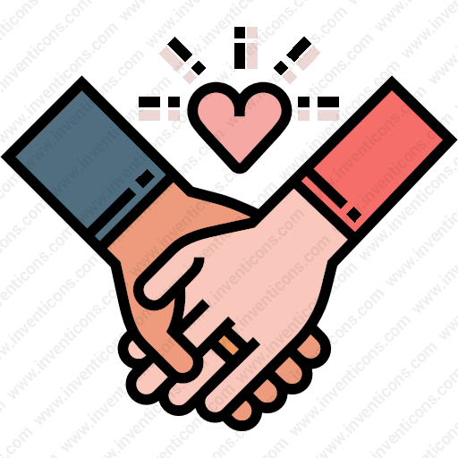 Download Couple,hands Icon Inventicons