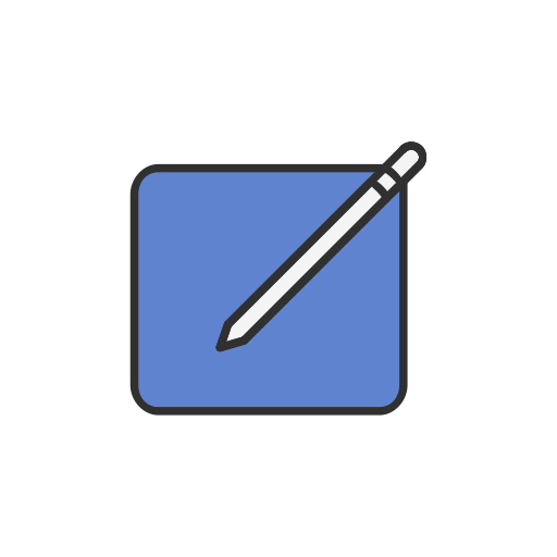 Pencil, Post, Create, Facebook Icon
