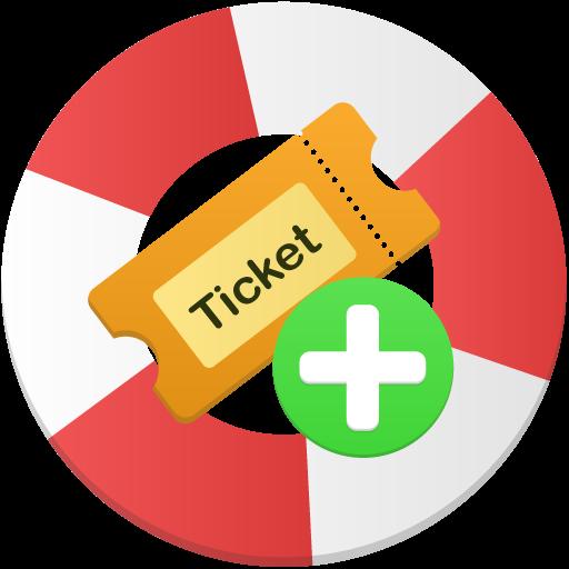 Create Ticket Icon Flatastic Iconset Custom Icon Design