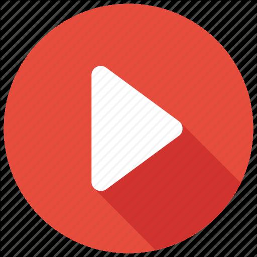 Arrow, Button, Movie, Play, Video Icon Icon